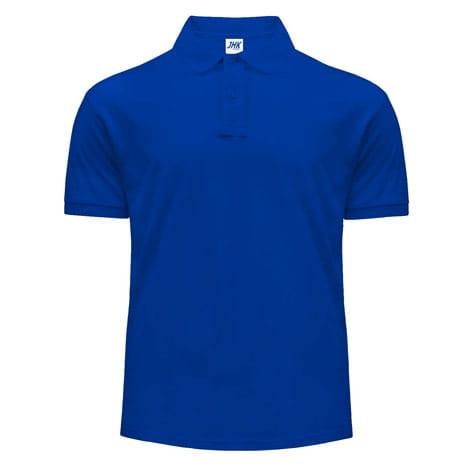 Koszulka polo JHK PORA210 niebieska